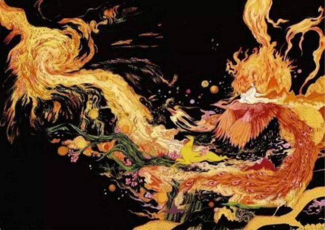 最美的《楚辞》,鬼才的画匠,再现屈原光怪陆离的诗词意境
