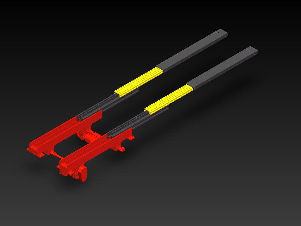 DS双深位增强版型伸缩货叉