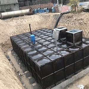 地埋水箱安裝