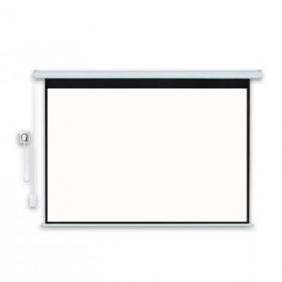电动自动遥控壁挂高清影院大型工程投影仪幕