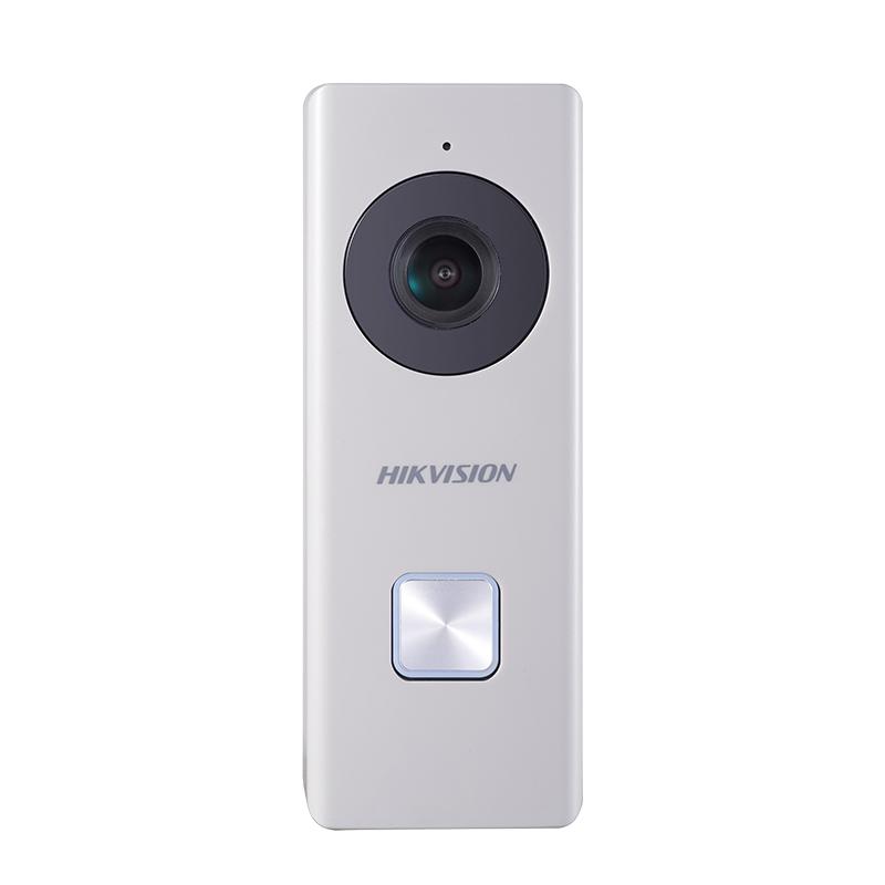 海康威视智能可视门铃无线家用电子猫眼对讲机wifi高清夜视摄像头
