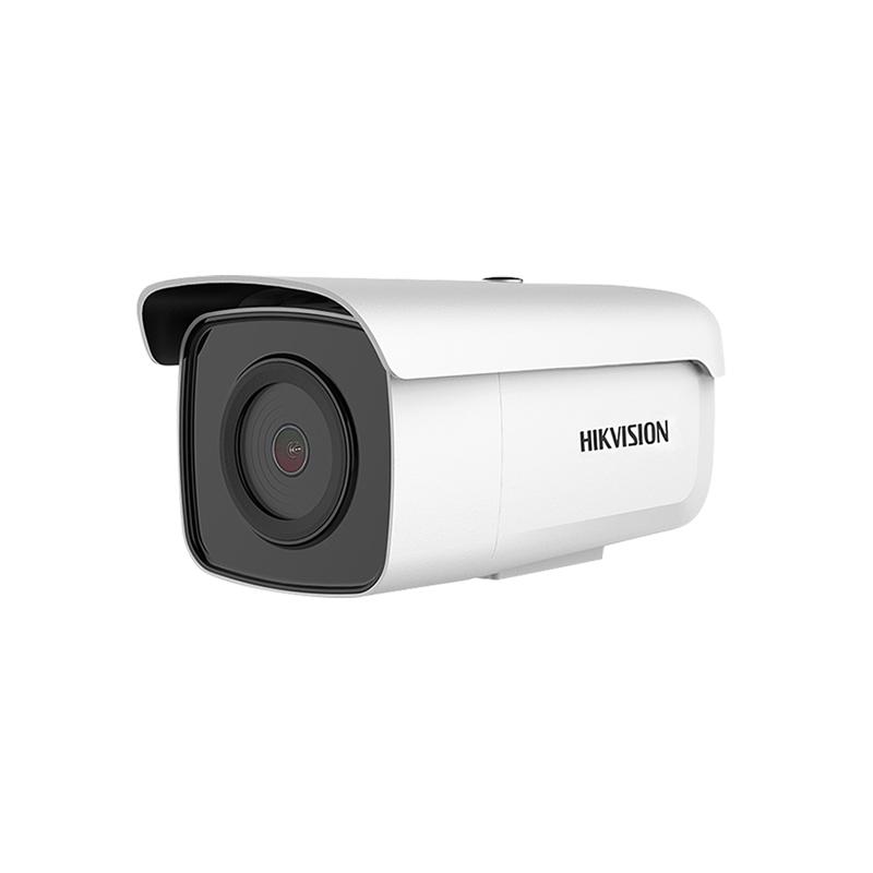 海康威视DS-2CD3T56FWDV2-I5 500万高清监控摄像头内置录音带POE