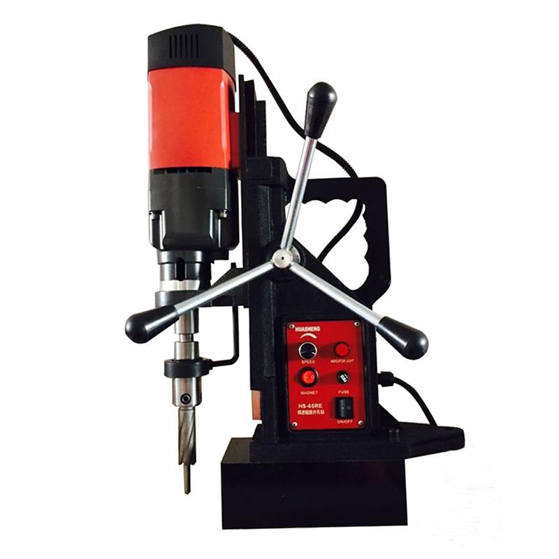 空心钻头用磁力钻220v工业级磁座钻吸铁钻电磁钻多功能小型磁铁钻