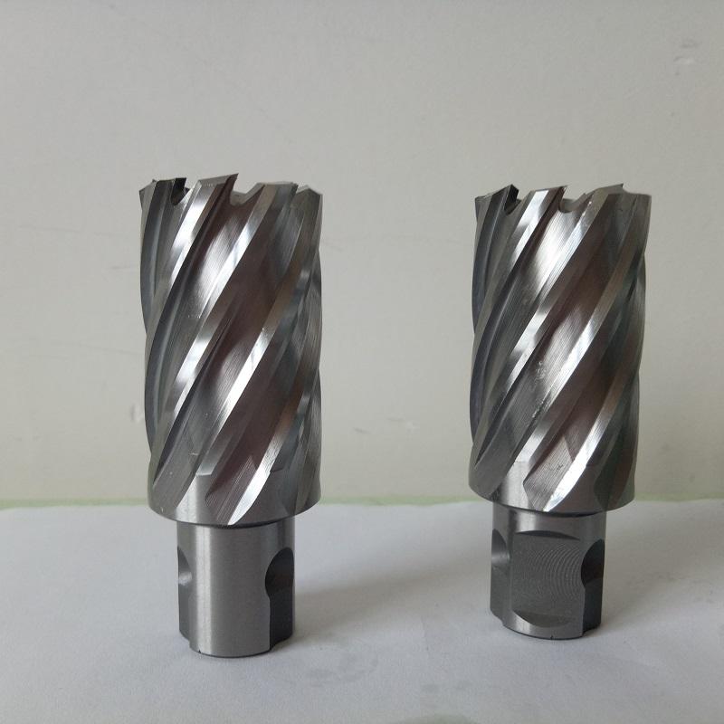 整体高速钢30深度磁座钻钢板开孔金属取芯HSS空心钻头磁力钻钻头