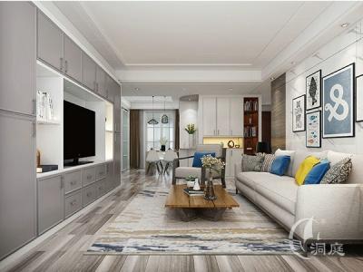 客厅 - 现代风格