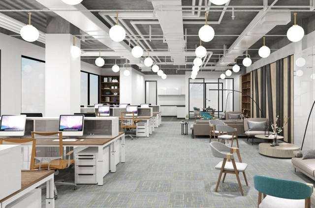 办公室装修怎样用好灯光效果