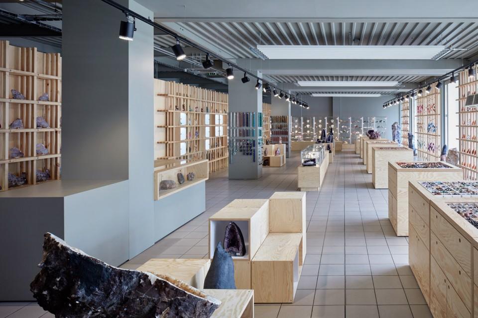 奇石商店整装设计