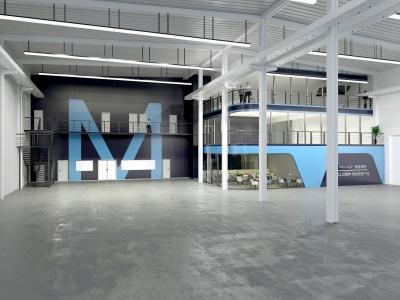 武清铭铨厂房办公一体化整装设计
