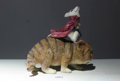 原创鼠年系列匠心产品锦毛鼠白玉堂