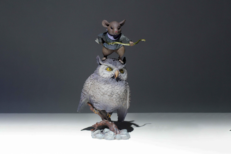 原创鼠年系列匠心产品钻天鼠卢方