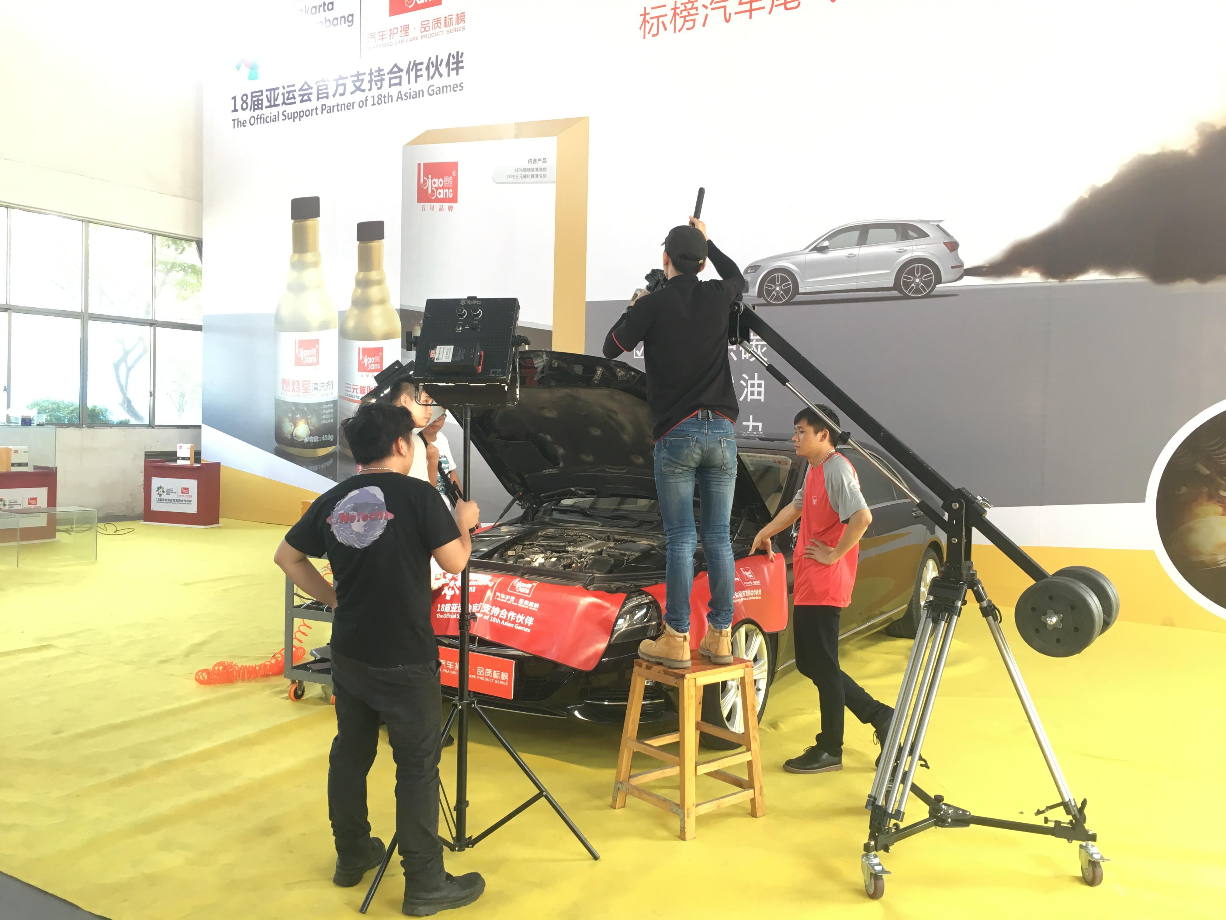 廣州標榜汽車用品產品宣傳片拍攝花絮