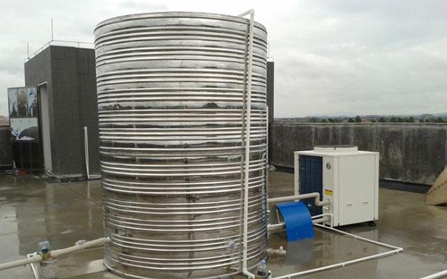 出租屋采用空气能热水,运行效果很好,获得客户高度认可