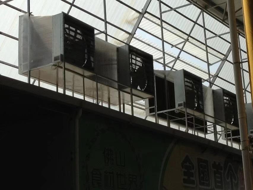 土禾风机和土禾水帘的通风工程效果是生产车间最好的选择