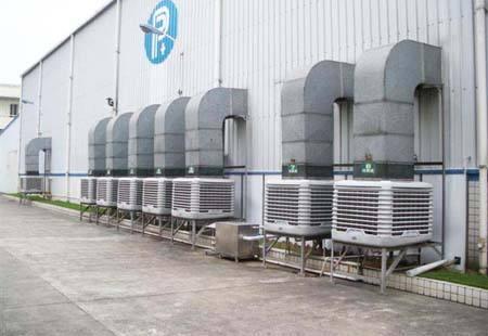 水冷型环保空调购买小技巧(土禾风机专家)