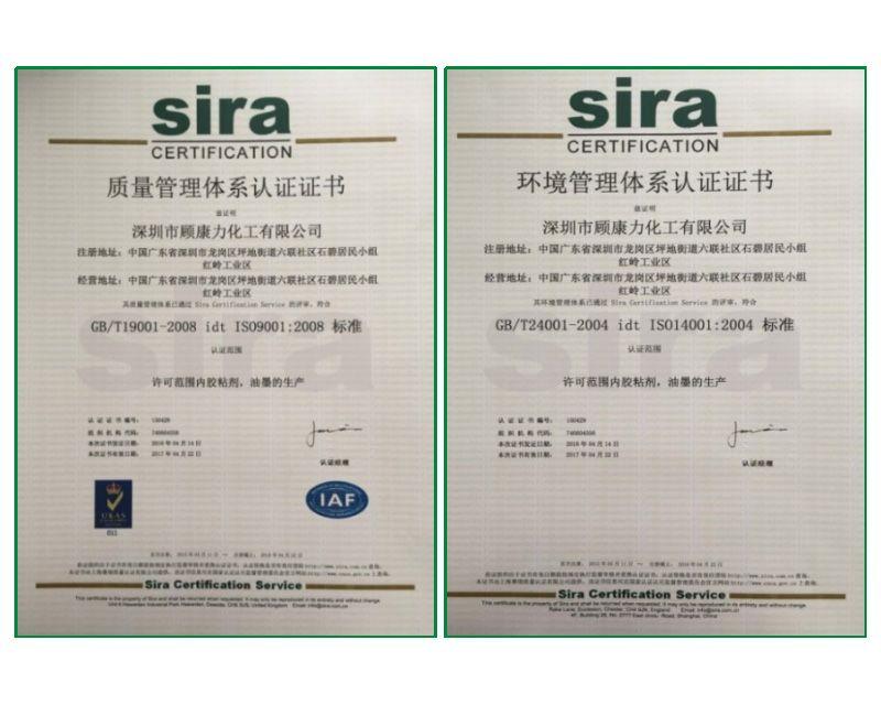 sira证书