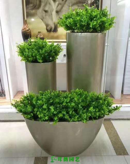 藝術玻璃鋼花盆