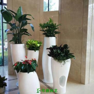 藝術玻璃鋼花盆 (4)