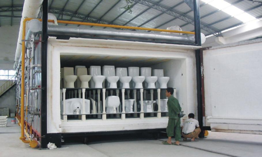 卫生洁具脉冲控制梭式窑