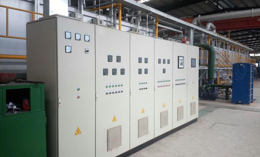 镀锌炉燃烧控制系统