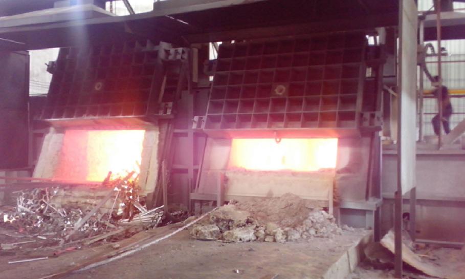 亚洲铝厂熔铝炉(广东肇庆)