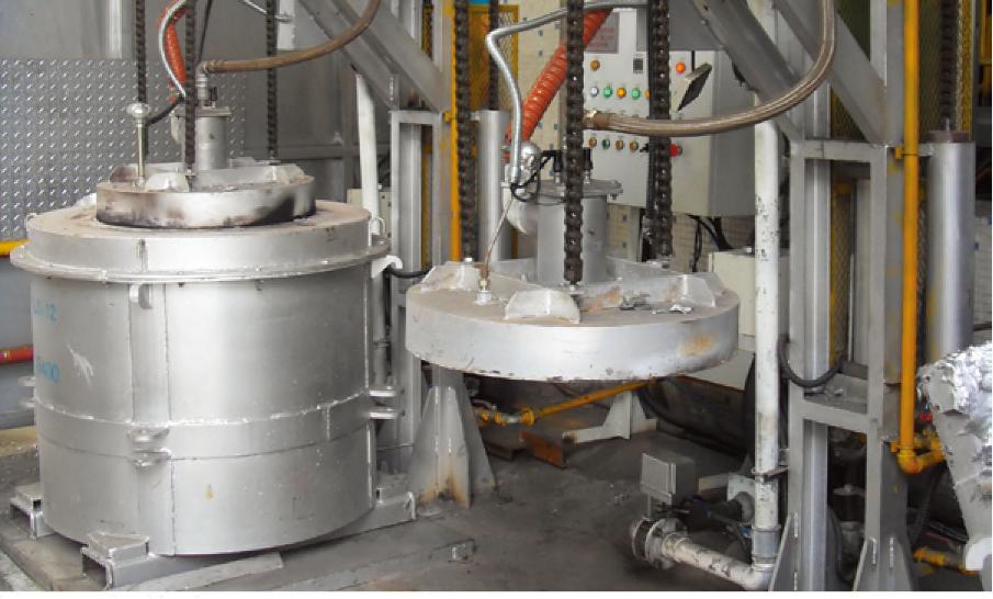 铝熔化保持炉