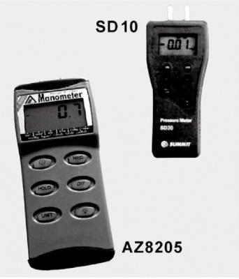 电子压力测试表 SD10 AZ8205