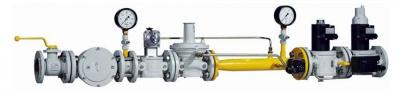 燃气主管道调压及安全保护计量系统
