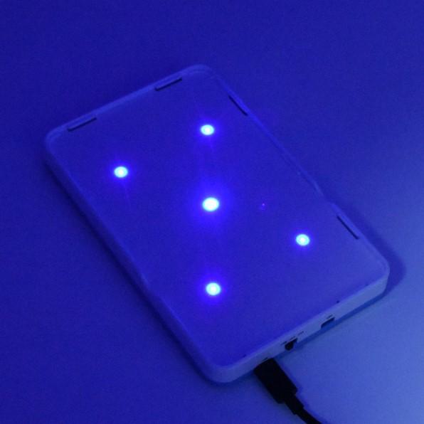 便攜式粘捕滅蚊燈 家用光波吸引無聲滅蠅燈 餐廳飯店電子捕蠅燈
