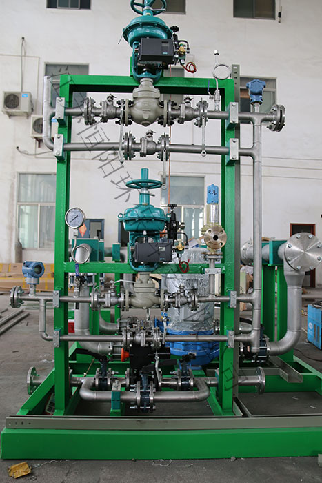 Pressure water make-up device of Indonesian Kastee