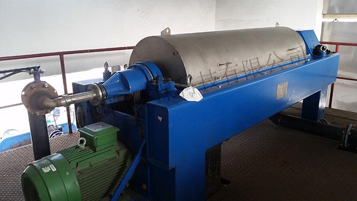 Matching sludge centrifuge