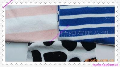 针织毛巾印花布