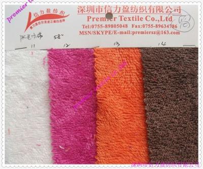 针织PK毛巾布