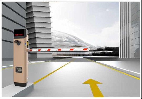 智能停車場---控制·道閘一體機