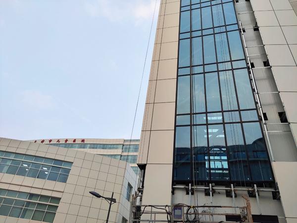 天津兒童醫院立體停車設備