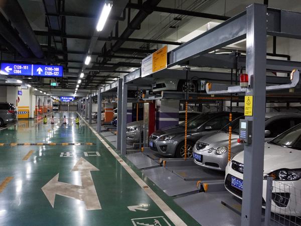 天津市渤海銀行總行立體停車設備項目