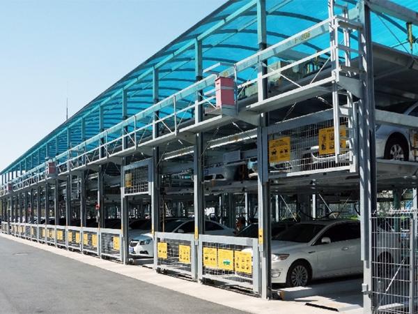 天津市中國電信立體停車設備項目