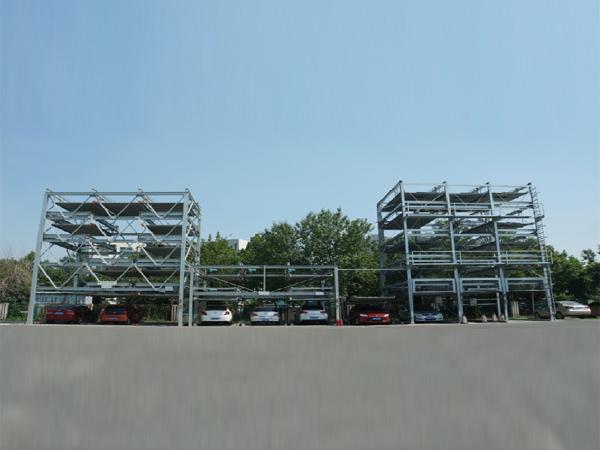 天津市中環通訊立體停車設備項目
