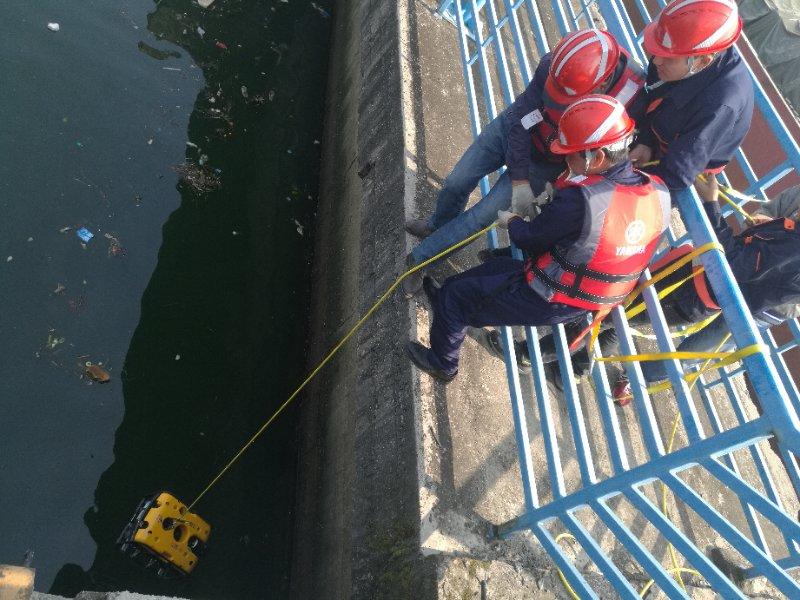 葛洲壩水下壩體檢測