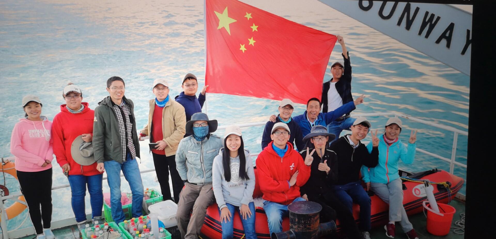 青海湖取样监测