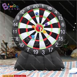 黑色飞镖(牛津布)气模城堡玩具BG-A0947-2