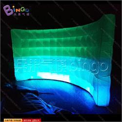 弧形灯光墙气模BG-A0734