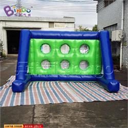 蓝绿色方管足球门气模BG-A0753-4