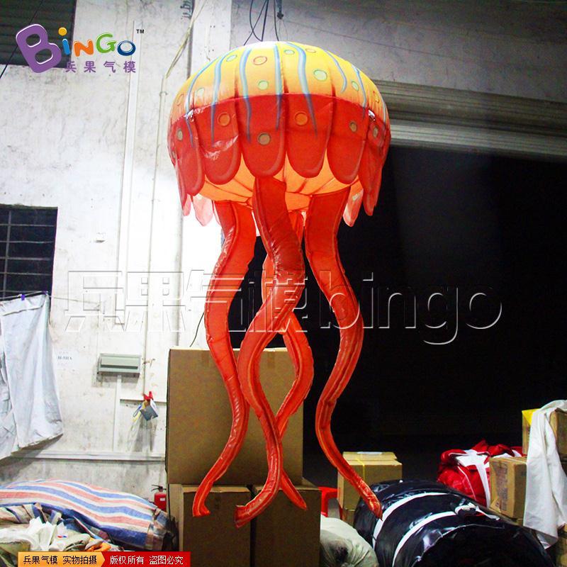 橙色水母灯气模BG-A0880