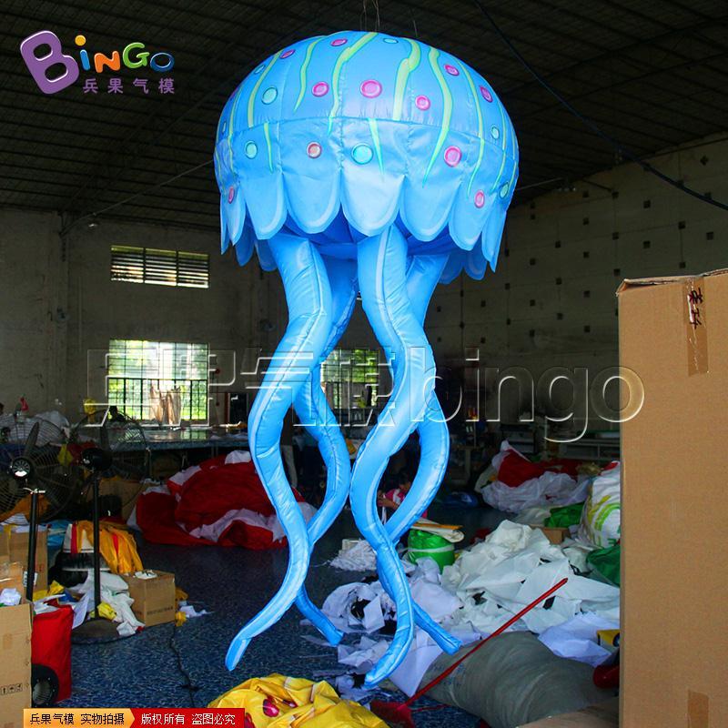 蓝色水母灯气模BG-A0881