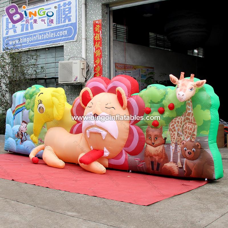 BG-Z0053-动物王国背景墙