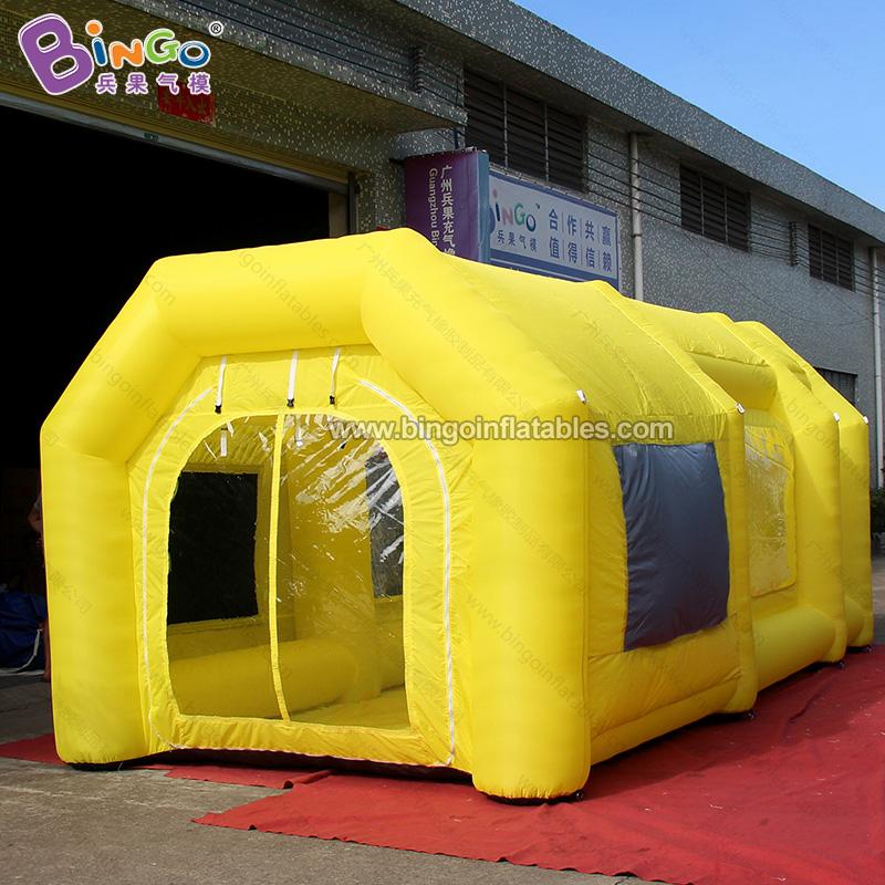BG-A0839-2-充气黄色无尘帐篷气模