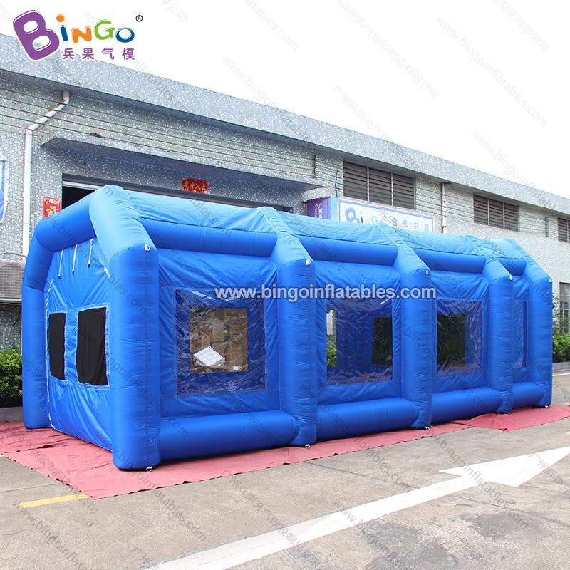 BG-T0148-充气蓝色无尘帐篷气模