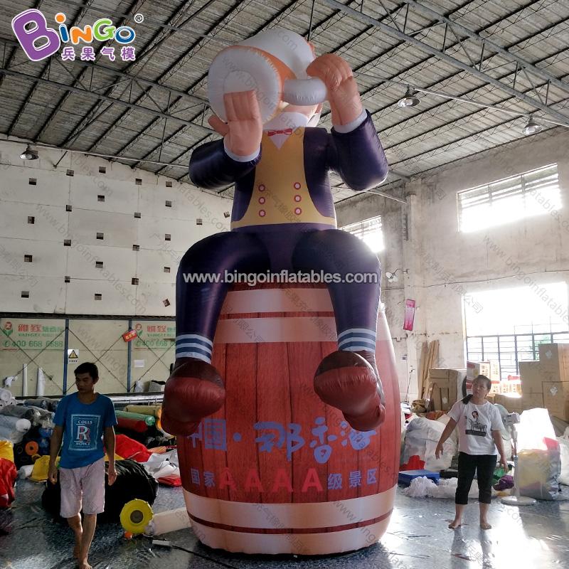 BG-B0026-充氣汽水人偶酒桶氣模