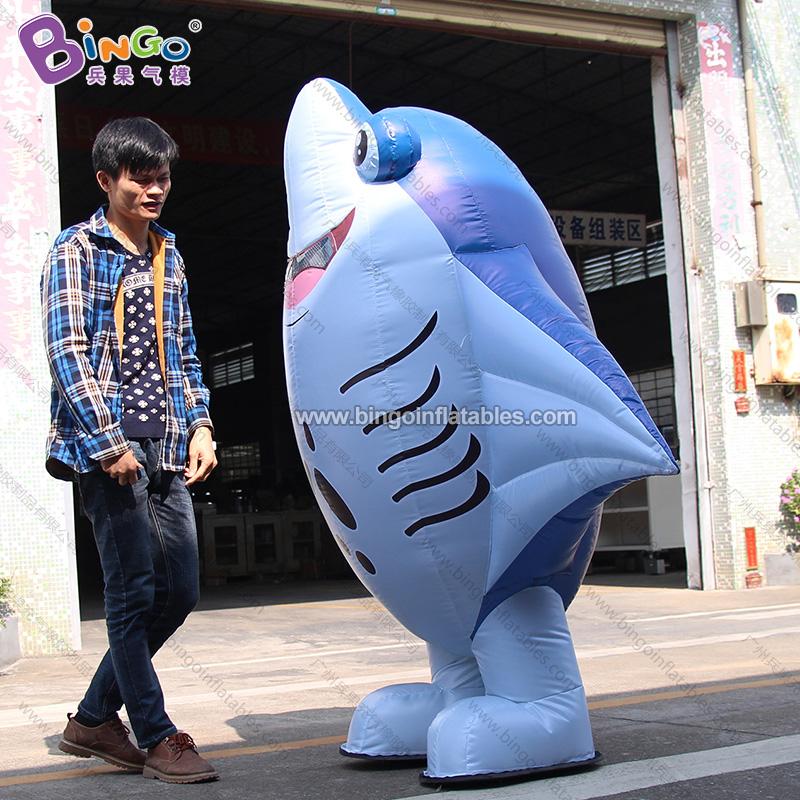 BG-O0076-充气鲨鱼行走卡通气模