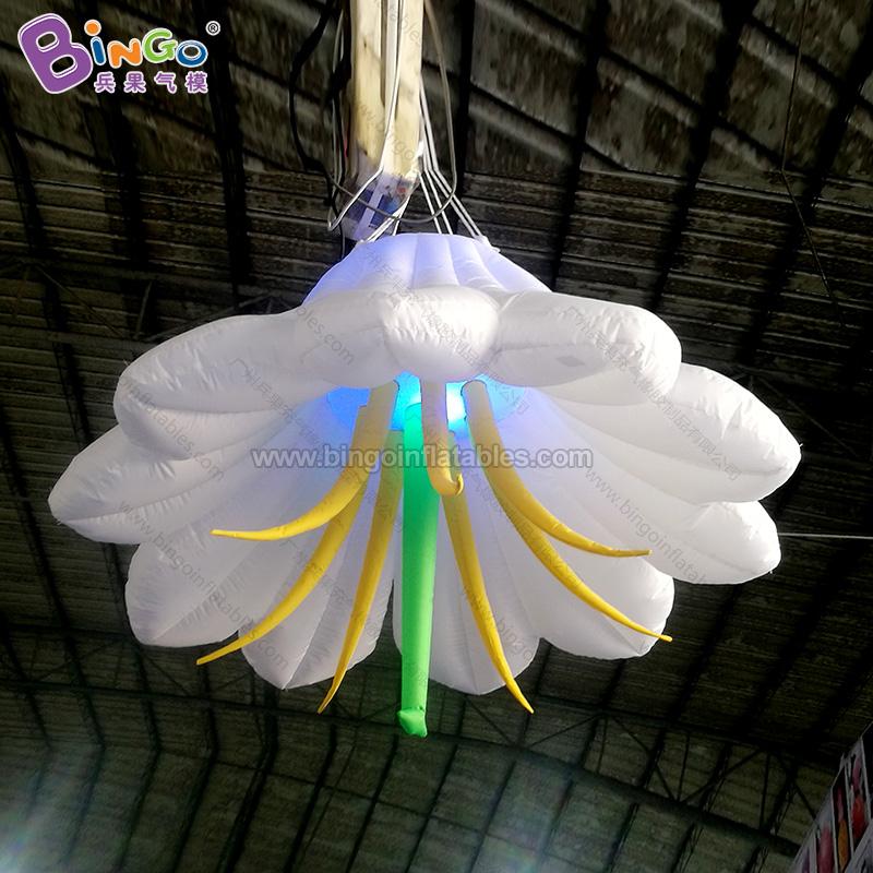 BG-Z0075-充气灯光百合花气模